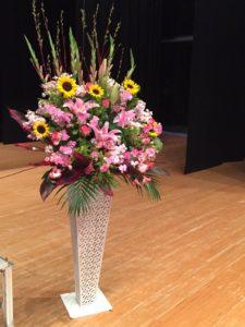 ピアノ発表会のお花